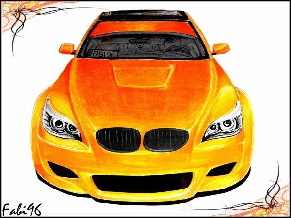 Dessin bmw m5 fab design tuning design - Dessin tuning ...